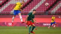 Lewat Adu Penalti, Timnas Brasil Susah Payah Tundukkan Meksiko di Semifinal Olimpiade Tokyo 2020
