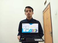 Cegah Penularan Covid-19, Mahasiswa Ini Ciptakan Uang Elektronik