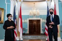 Indonesia dan AS Gelar Dialog Strategis Pertama, Bahas Isu Kesehatan Hingga Kawasan