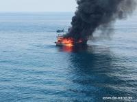 Kapal Terbakar di Perairan Pulau Berhala Sumut, Satu ABK Tewas