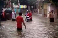 Ribuan Rumah di Cilegon Terendam Banjir