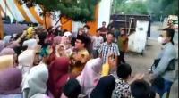 Ketahuan Dangdutan Tanpa Prokes, Wabup Lampung Tengah Dihukum Bersihkan Masjid