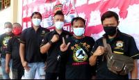 Masyarakat Antusias Ikut Vaksinasi Merdeka Candi Polda Jateng