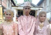 Heboh! Pria Sumsel Nikahi 2 Wanita Sekaligus, Bakal Hidup Serumah di Jakarta