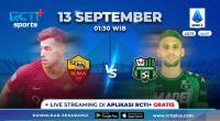 Saksikan Live Streaming AS Roma vs Sassuolo di RCTI+, I Lupi Ingin Jaga Tren Positif