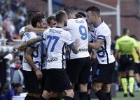 Sampdoria vs Inter Milan, I Nerazzurri Unggul 2-1 pada Babak Pertama