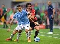 Berkat Gol Telat Rafael Leao, AC Milan Unggul 1-0 atas Lazio di Babak Pertama