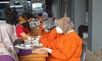 Serbuan Vaksinasi TNI AL Bersama MNC Peduli, Warga: Semoga Kehidupan Normal Lagi