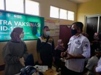 Dihadiri Miss Indonesia Carla Yules, Sentra Vaksinasi MNC Peduli di Malasari Bogor Disambut Antusias Warga