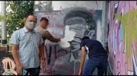 Heboh Mural Mirip Jokowi di Pangkalpinang, Satpol PP Hapus
