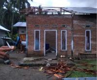 17 Rumah di Mamuju Rusak Diterjang Puting Beliung