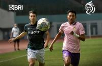 PS-TIRA Persikabo vs Persik Kediri, Skor 1-1 Tutup Babak Pertama