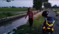 Heboh Sungai Merah di Klaten, Polisi Ambil Sampel Air