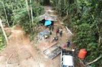 KLHK dan Bareskrim Polri Sidak Penambangan Emas Tanpa Izin di Bolmong Sulut