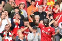 Liverpool vs Crystal Palace, The Reds Unggul 1-0 Berkat Gol Sadio Mane di Babak Pertama