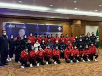 Timnas Putri Indonesia Resmi Dilepas PSSI ke Tajikistan untuk Kualifikasi Piala Asia 2022
