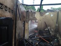 ODGJ Bakar Sampah, Rumah di Bogor Ludes Terbakar