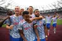 Hasil West Ham United vs Manchester United di Pekan Kelima Liga Inggris 2021-2022: The Red Devils Menang Dramatis 2-1