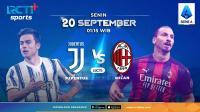 Saksikan Live Streaming Juventus vs AC Milan di RCTI +