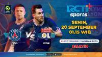 Saksikan Live Streaming PSG vs Olympique Lyon di RCTI+