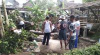 Angin Kencang Rusak 36 Rumah di Gambiran Banyuwangi, Seorang Korban Alami Luka-luka
