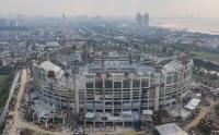Jakarta International Stadium Segera Pasang Rumput Berstandar Internasional: Bisa Menyerap Air Hitungan Detik