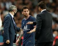 Wajah Lionel Messi Marah saat Diganti di Laga PSG vs Lyon