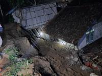 Satu Warga Luka Berat Akibat Tertimbun Tanah Longsor di Cianjur