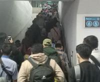 Begini Kondisi Stasiun Manggarai Akibat Gangguan Pohon Tumbang di Depok