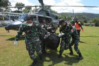 Satu Prajurit TNI Gugur saat Amankan Evakuasi Jenazah Suster Gabriella