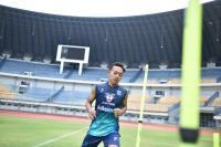Penampilan Dapat Sanjungan, Gelandang Persib Bandung Beckham Putra Pilih Merendah