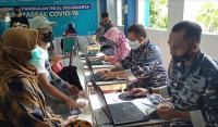 TNI AL dan MNC Peduli Gelar Serbuan Vaksinasi di SMP dan SMA Bias Yogyakarta