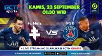 Jadwal Live Streaming Metz vs PSG di RCTI+, Les Parisiens Tak Diperkuat Lionel Messi