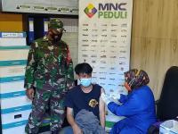 Percepat Herd Immunity, MNC Peduli Dukung Desa Cipanas Cianjur Vaksinasi Warga