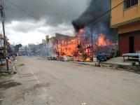 5 Rumah dan 10 Kios di Tapanuli Utara Kebakaran