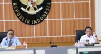 Mahfud MD dan Tito Bahas Simulasi Tanggal Pemilu Serentak 2024