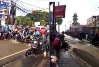 Ini Dugaan Penyebab Banjir di Pancoran Mas Depok