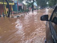 Banjir Surut, Arus Lalin di Sawangan Depok Kembali Normal