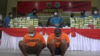 Gagalkan Penyelundupan 97 Kg Sabu ke Jawa, Polda Lampung Tangkap 2 Kurir