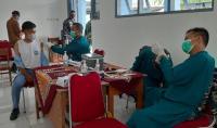 Siswanya Ikuti Vaksinasi TNI AL-MNC Peduli, SMK di Bantul Siap Gelar PTM
