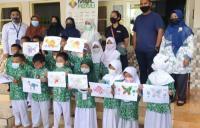 MNC Peduli Ajak Anak-Anak Desa Cipanas Bermain dan Belajar untuk Kembangkan Kreativitas