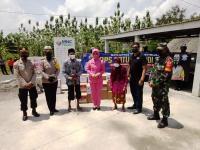 Ditlantas Polres Boyolali, Bhayangkari Boyolali dan MNC Peduli Kirim 7 Tangki Air Atasi Kesulitan Air Bersih