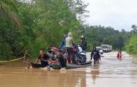Hujan Deras, 3.642 Rumah di Kabupaten Gunung Mas Kalteng Kebanjiran