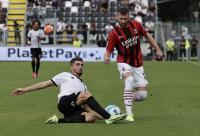 Skor Kacamata Hiasi Babak Pertama Spezia vs AC Milan