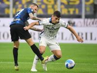 Sempat Unggul, Inter Milan Tertinggal 1-2 dari Atalanta di Babak Pertama
