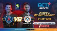 Jadwal Live Streaming PSG vs Montpellier di RCTI+, Les Parisiens Main Tanpa Lionel Messi