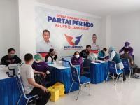 Warga Serbu Vaksinasi Massal Covid-19 Perindo Jabar, 1.000 Dosis Vaksin Ludes