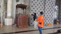 Selain Mimbar, Pelaku Juga Bakar Alquran dan Sajadah Masjid Raya Makassar