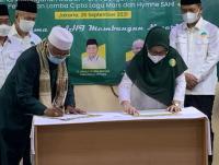 Putri Ma'ruf Amin Resmikan Kantor Komite Ekonomi SAHI