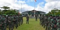 Amankan PON Papua, 500 Prajurit Gabungan Tiga Matra di Merauke Disiagakan